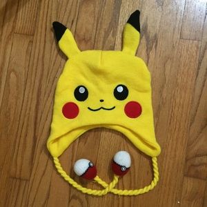 Pikachu Pokémon Winter Hat